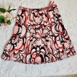 NWT Esprit Pleated A-line Skirt size 8